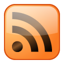 Orange, Rss, Shine icon