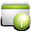 upload, folder icon