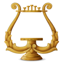 , Lyre icon