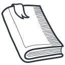 learning, academy, academic, tool, knowledge, education, handdrawn, student, teach, book, teaching, school, university icon