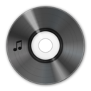 music,disc icon