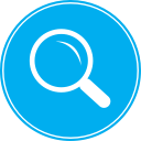 explore, science, research, magnifying glass, search, magnifying, view, find, magnifier, zoom icon