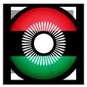 of, flag, malawi icon