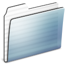 generic, stripe, graphite, folder icon