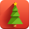 christmas tree, new year icon