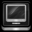 Computer, Metallic icon