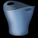 trash, recycle bin, blank, empty icon