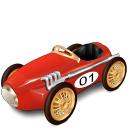 vroum, automobile, car, transport, transportation, racing, vehicle, toy icon