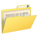 Contents, Folder, With icon