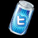Soda, Twitter icon