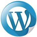 wp, wordpress, communication, blogging icon