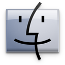 finder,graphite icon