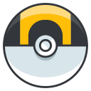 ball, pokemon, game, go, ultra, play icon