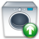 Machine, Up, Washing icon