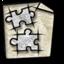 gnome, library icon