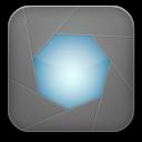 aperture grey icon