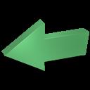 arrow, previous, back, backward, prev, left icon