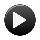 button, black, play icon