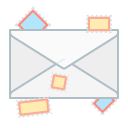 send, letter, communication, message, mail, envelope icon
