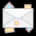 send, letter, communication, message, mail, envelope icon