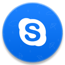 voice, skype, call, chat icon