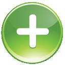 green, plus, add icon