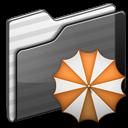 Backup Folder black icon