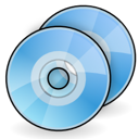 discs, dvd, cd icon