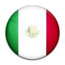mexico, flag, country icon