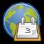 calendar, gnome, date, web, schedule icon