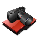 camera, photography, folder icon