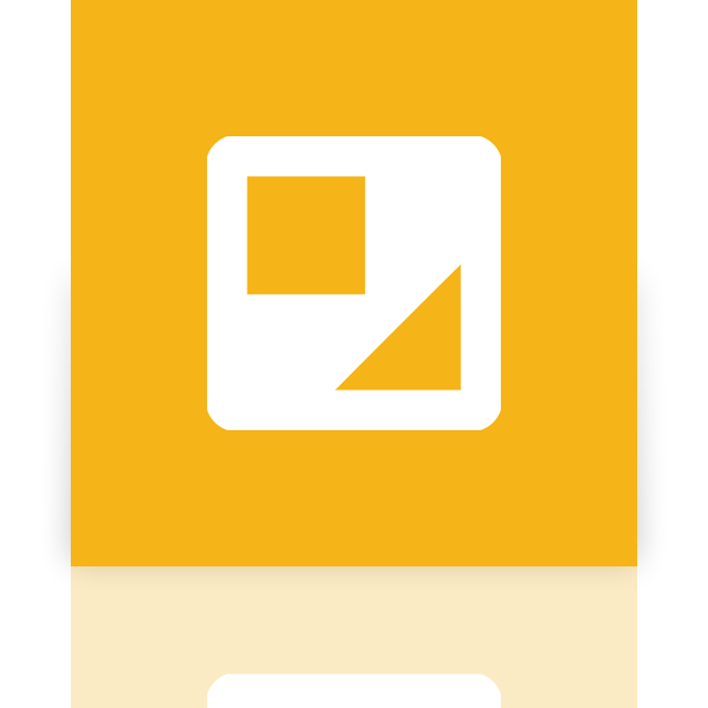 google, doc, drawing, mirror icon