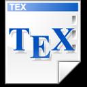 Mimetype tex icon