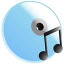 music, disc icon