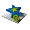 Star Delete icon