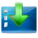 descend, descending, arrow, add, plus, down, fall, desktop, decrease, download icon