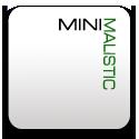 Minimal, Text icon