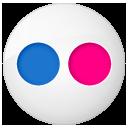 Button, Flickr, Social icon