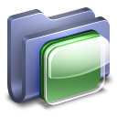 iOS Blue Folder icon