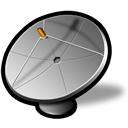 antenna, hot icon