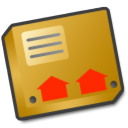 parcel, pack, zip, something, box, package, like, this icon