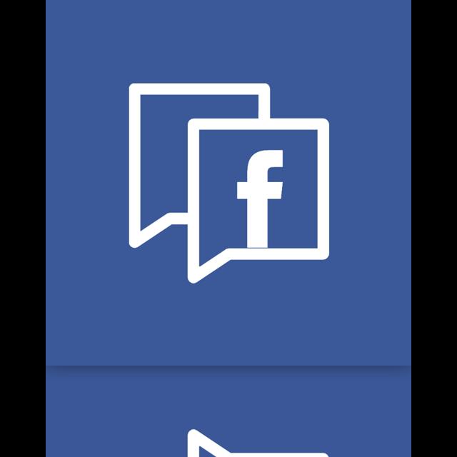 facebook, mirror, alt icon