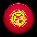 flag, kyrgyzstan, country icon