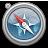 Graphite, Safari icon