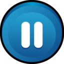 button,pause icon