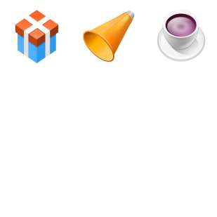 Application icon sets preview