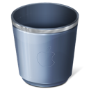 recycle bin, empty, trash icon