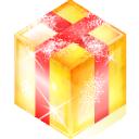 present, box, gift icon