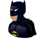 cartoon, batman icon