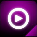 mediaplayer,glow icon